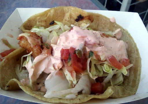 Taco Gobernador at La Playa Seafood