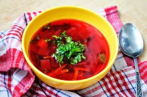 vegan borscht