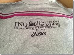 Asics NYC marathon