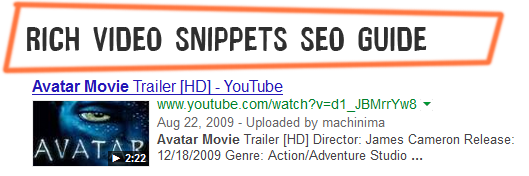 rich video snippets seo