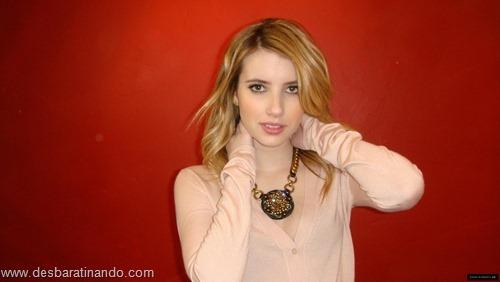 Emma Roberts linda sensual sexy sedutora desbaratinando (130)
