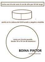 BOINA PINTOR PAPEL 1