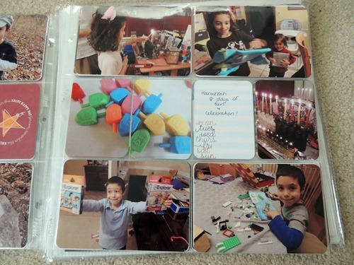 Hanukkah Project Life Page
