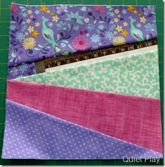 Measure Twice - January block for the And Sew On BoM