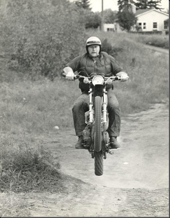 Horst on Bike