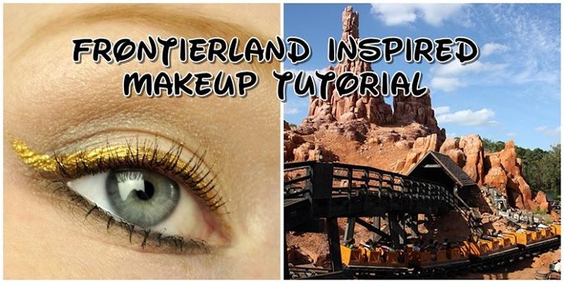 walt disney world frontierland inspired makeup thunder mountain1