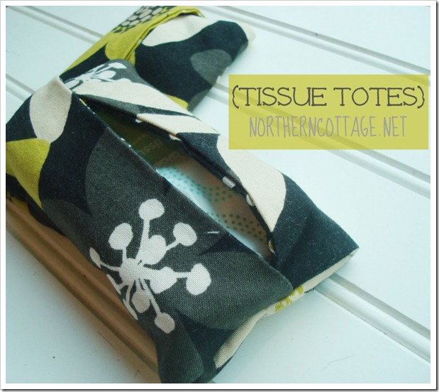 diy {Tissue Totes} @ NorthernCottage.net