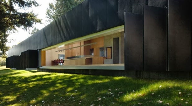 linear house by patkau architects 4