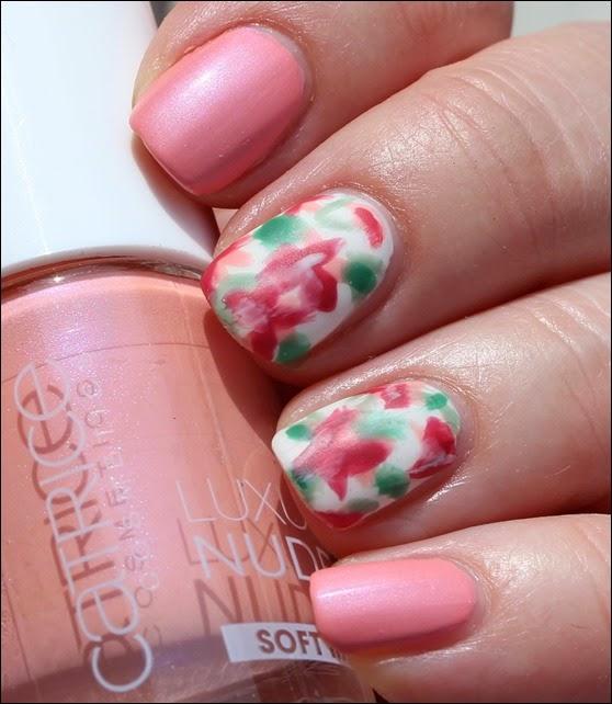 Mottomonat Blütenzauber Nageldesign Nail Art Flowers Spring 06