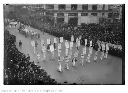 'Suff. Parade, 10/23/15 (LOC)' photo (c) 1915, The Library of Congress - license: http://www.flickr.com/commons/usage/
