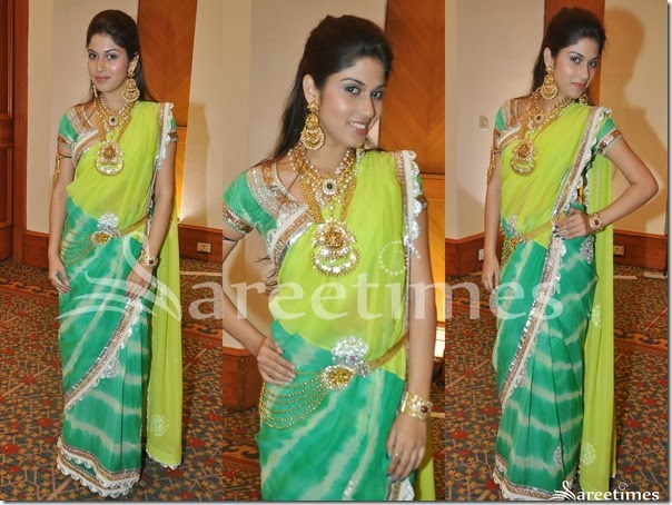 Green_Half_and_Half_Saree