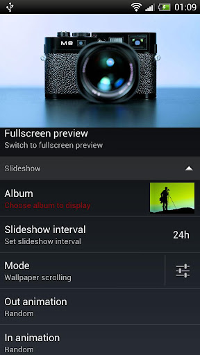 Slideshow HD Live Wallpaper - screenshot