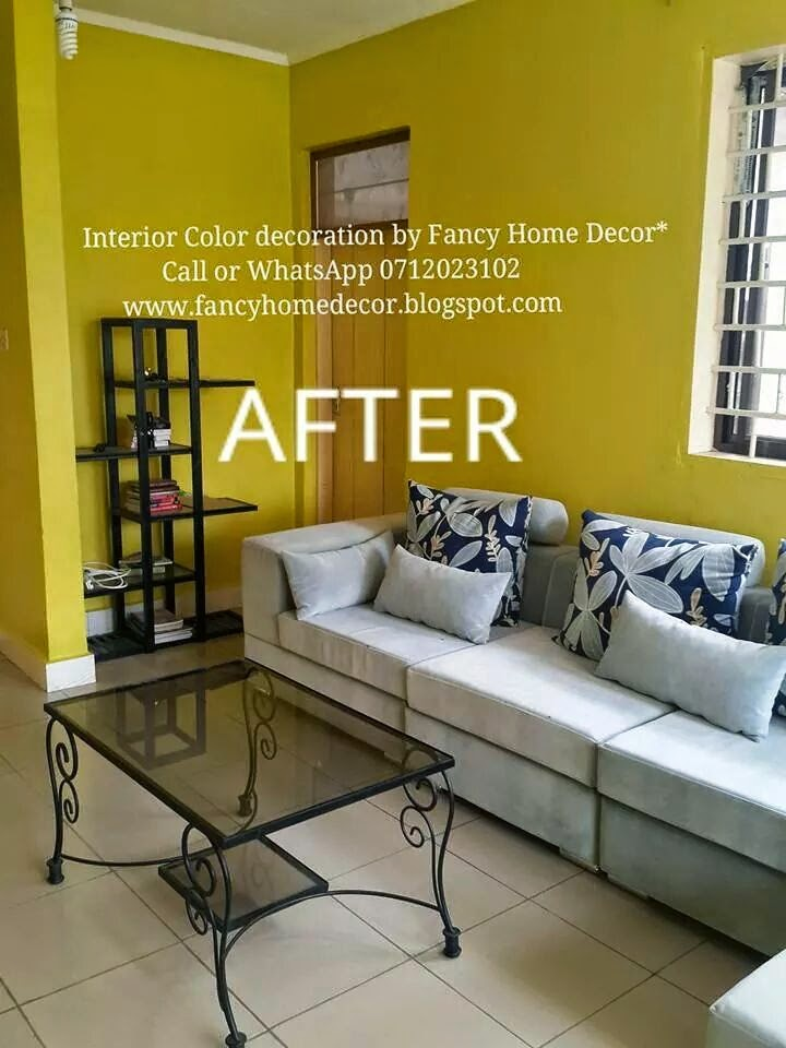 Fancy home decor before and after interior painting for Home interior website