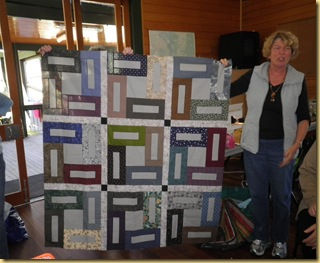 LynnRS with male quilt