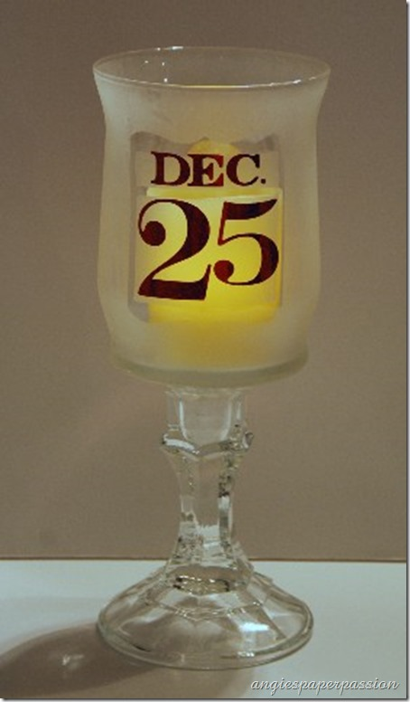 Christmas Etched Candle (11)