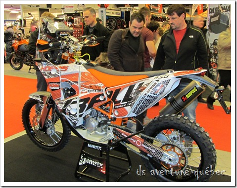 Salon Moto Montreal 2015 - KTM Rally Replica