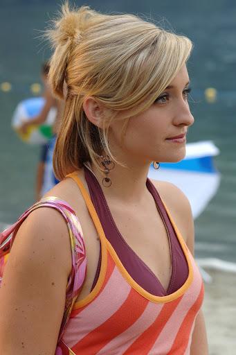 of Allison Mack as Chloe.