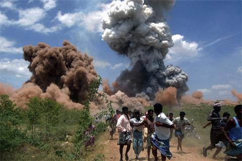 Những bức ảnh ấn tượng của thế giới năm 2012