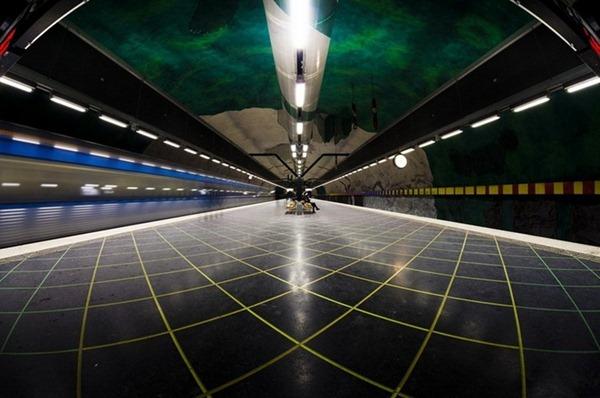 مترو السويد مترو ستوكهولم