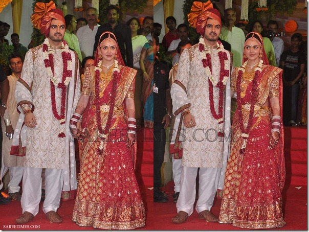 Esha_Deol_Wedding_Saree