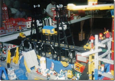 14 Pacific Northwest Lego Train Club Layout at GATS in Portland, Oregon in October 1998