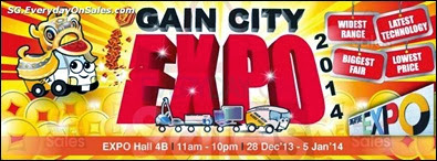 Gain City Expo 2014 Singapore Events Jualan Gudang EverydayOnSales Offers Buy Sell Shopping