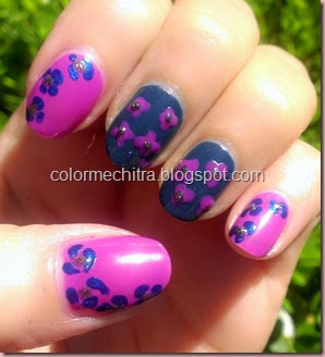 Chitra Pal Sinfulolors Nail Art for Collage (21)