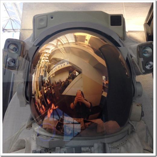 astronuat selfie