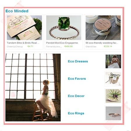 Semplicemente Perfetto Wedding Etsy 2013 Eco Minded trend matrimonio veneto treviso