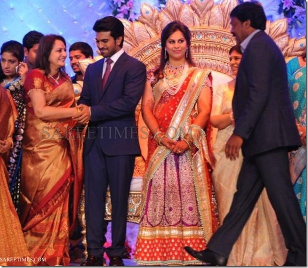 Ram Charan - Upasana Reception Stills