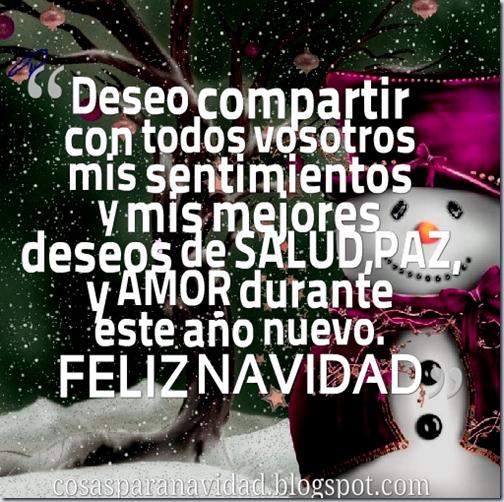 Frases feliz Navidad con imágenes bonitas