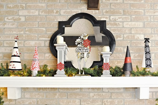Holiday Decor via Monica Wants It #TXSocial