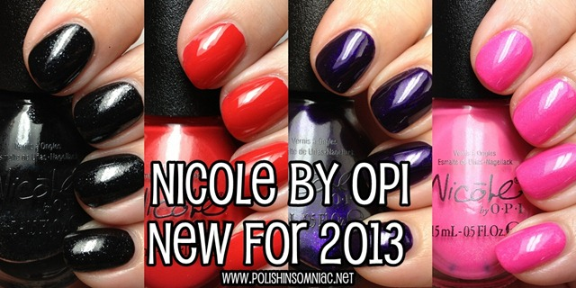 Nicole by OPI New for 2013