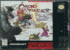 A scan of my copy of Chrono Trigger.