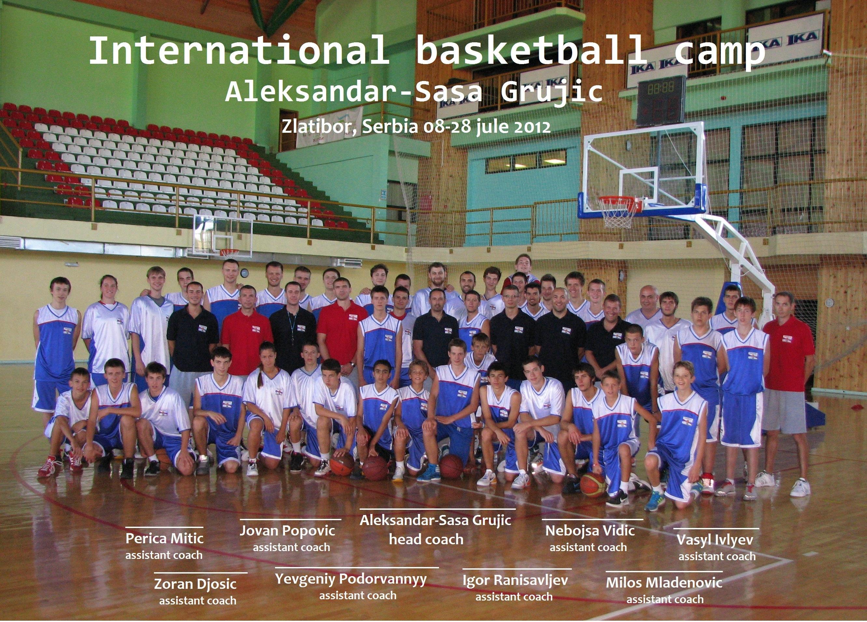 Баскетбольный лагерь в Златиборе