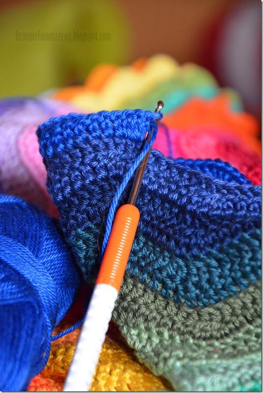 Ripple Blanket - Zwischenstand (5)