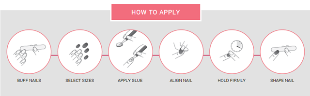 How to apply Static Nails #staticnails