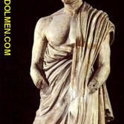 95 - Escuela de Atenas - Retrato de Demostenes