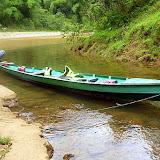 Our Canoe At The Falls - Suva, Fiji