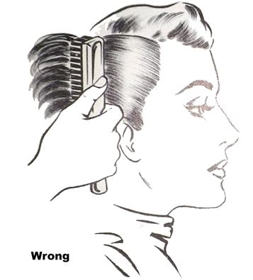 Wrong way to brush out - Pin Curls 101 | Lavender & Twill