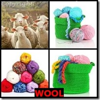 WOOL- 4 Pics 1 Word Answers 3 Letters