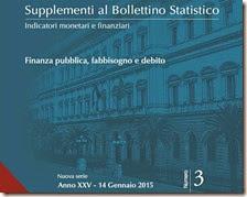 Supplementi al Bollettino Statistico. Gennaio 2015