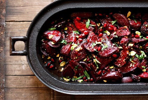 Roasted Moroccan Beets