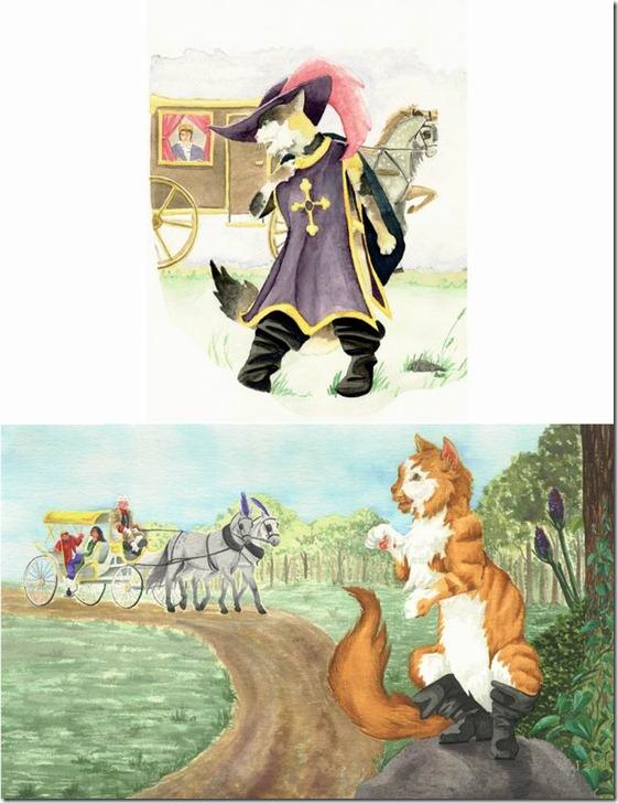 El Gato con Botas,El gato maestro,Cagliuso, Charles Perrault,Master Cat, The Booted Cat,Le Maître Chat, ou Le Chat Botté (32)