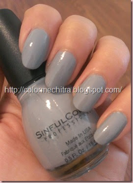 Chitra Pal Sinful Colors Cool Gray (21)