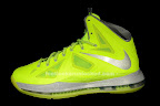 nike lebron 10 gr atomic volt dunkman 6 01 Nike, This is How We Want Our Volts! With Diamond Cut Swoosh.