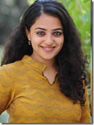 Nithya Menon in nice dress