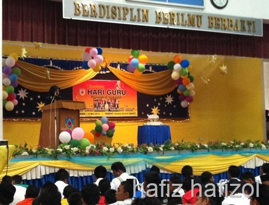Sambutan hari guru 2012
