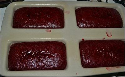 red velvet cake not done