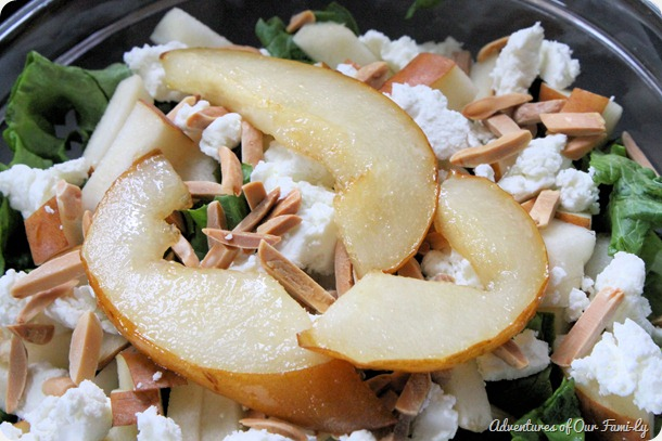 pear and goat cheese salad recipe